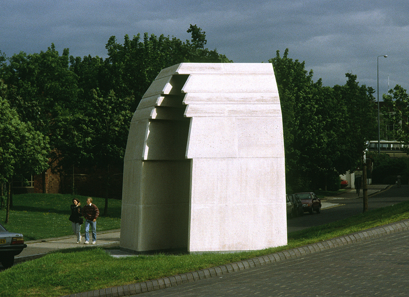 Basilica - Sculpture by Paul de Monchaux 1991